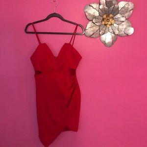XL Asymmetrical dress from Fashion Nova